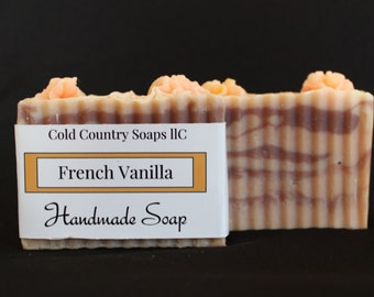 French Vanilla Soap Handmade Cold Process