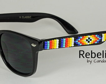 Beaded Sunglasses Kids Wayfarers