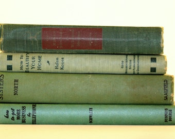 Four Book Grouping - Green