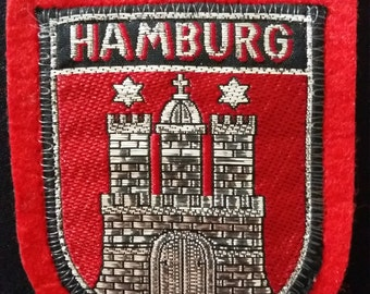 Hamburg Patch with castle