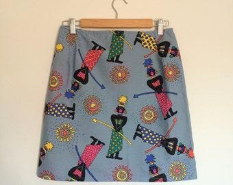 The Gigi Skirt - High Waisted Pencil Skirt M/L