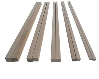 Mixed Wooden Dowels x10
