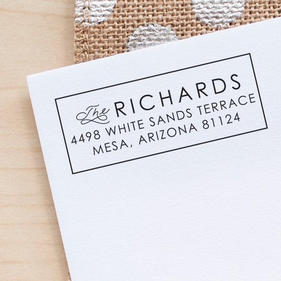 Custom Return Address stamp, Wedding Address Stamp, Invitation stamp, rustic wedding stamp, wedding stationery eco friendly rubber stamp