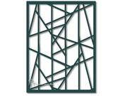 Craft stencil-Pattern stencil-Geometric stencil-template-Stencils and masks-papercraft supply-stencil for scrapbooking-Custom stencil-paint