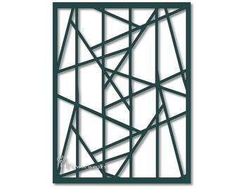 Pochoir g om trique etsy for Pochoir geometrique