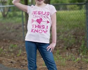 Jesus Loves Me Shirt - Jesus Shirt - Love Shirt - Religious Shirt - Faith Shirt - Christian Shirt