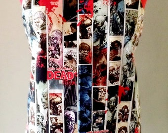 Walking Dead Zombie Apron