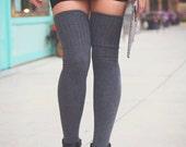 Over the Knee Socks Thigh High Skirt Socks