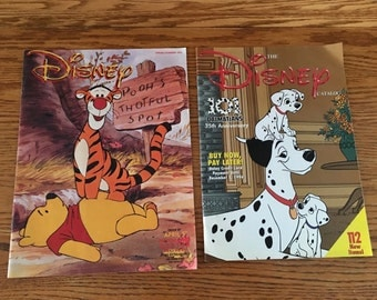 Two Vintage Disney Catalogs from the 1990's