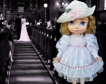 Disney Animator doll clothes /  Disney princess dress / Disney toddler doll / Disney Store doll / Disney Park doll / Holiday doll dress