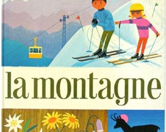 "Retro kids book ""La Montagne"" by Alain Grée"