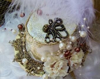 Steampunk In the Octopus's Garden Lolita mini hat