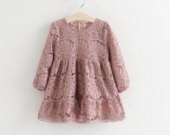 Lace spring dress