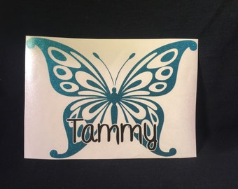 Butterflies | Butterfly Decal | Butterfly Sticker | Car Decal | Butterfly Car Sticker | Butterfly Car Decal | Cup Decal