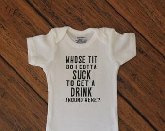 Adult Humor Baby Onesie