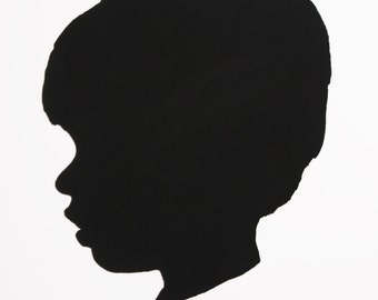 Custom Child's Silhouette - Digital File
