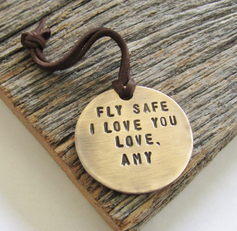 Personalized Luggage Tags Wedding Gift: Custom Luggage Tag For Pilot Husband Personalized Bag Tag
