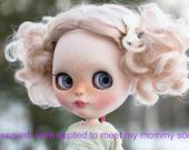 Blythe OOAK Custom Art Doll for Adoption - RESERVED for K