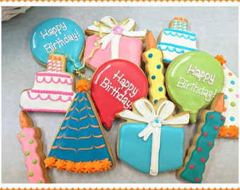 Happy Birthday Cookie Set