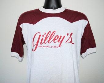 70's Gilley's Pasadena, TX Rare Vintage Urban Cowboy South Texas Country Music Honky Tonk T-Shirt