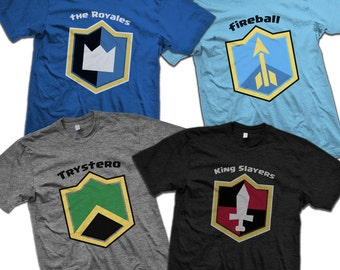 CUSTOM Royale with Tees! Personalized Badge Shirts