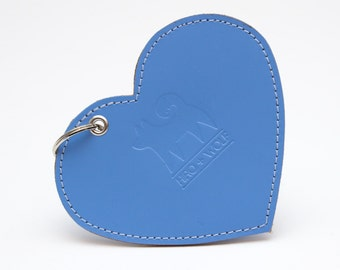 Heart Botanical Blue Poo Pouch