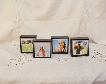 Nana Photo Blocks, Customized Photo Blocks, Personalized Photo Blocks, Wood Blocks, Photograph Block, Wood Sign, Wedding Photo Blocks 1 to 6