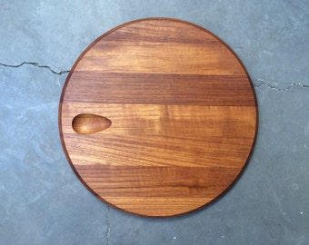 Dansk Staved Teak Cheese Board/Cutting Board By Jens Quistgaard