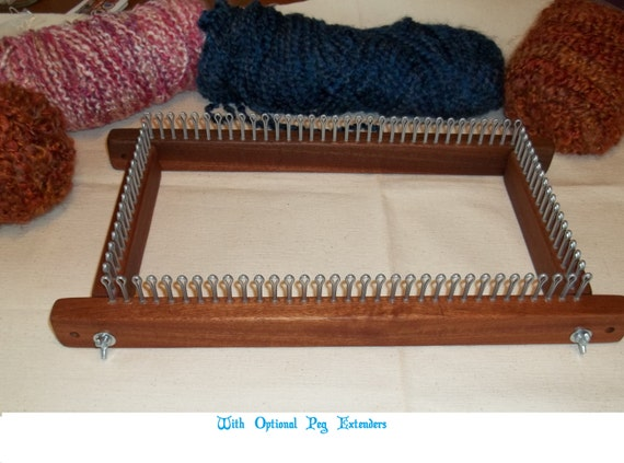 Knitting Loom 12 Pegs : Knitting board long loom any gauge by cottagelooms on