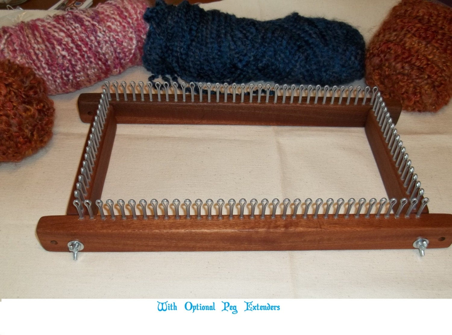 12 Knitting Board / Long Loom Any Gauge by CottageLooms on Etsy