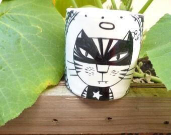 Rocky Cat mug