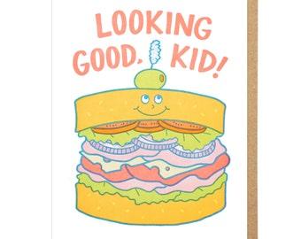 Looking Good, Kid Letterpress Card