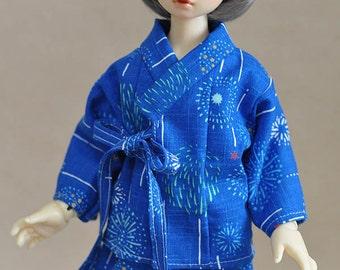 kimono Jinbei for BJD MSD size vol.1