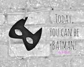 BATMAN Pretend Mask // One size fits most