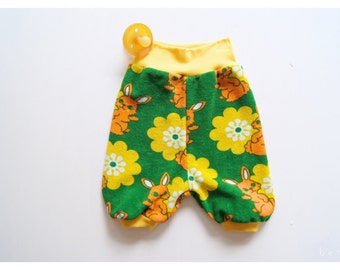 bunny flower shorts - terry -