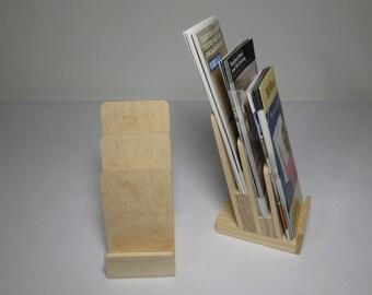 Display Stand 3 Tier, Brochure Holder, Rack Cards