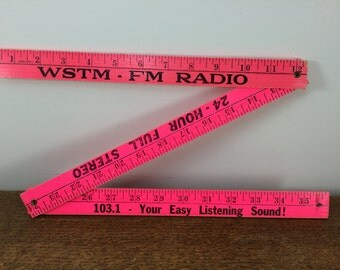 Folding Ruler Yardstick ***FREE SHIPPING!*** Yard Stick - Hot Pink!
