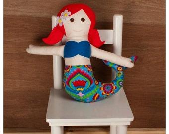 Miss Melody Mermaid Softy - Stuffed Plush Mermaid