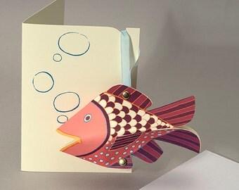Fish Decoration/Card - pop up