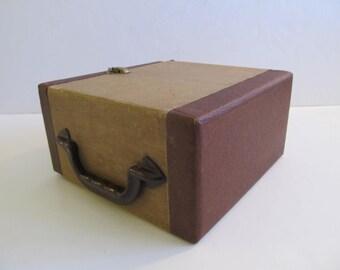 Wood Boxes, Zephyrlite, Zephyrlite Boxes, Wood Boxes with Shelves, Wood Cases with Shelves, Slide Cases, Carrying Cases, Vintage Slide Case