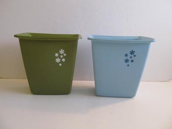 trash cans waste paper baskets waste baskets midcentury