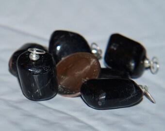 Black Tourmaline Pendants
