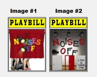 Theater / Show Charm - Playbill Play Bill - Noises Off