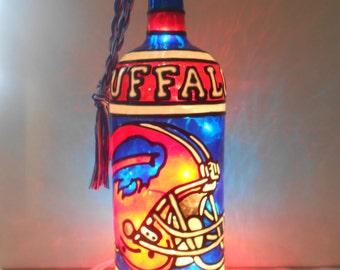 Buffalo bills lamp | Etsy