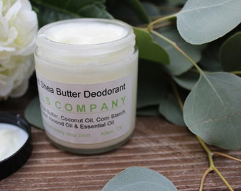 All Natural Deodorant - Shea Butter - 2  ounce - Harmful Chemical(s) Free