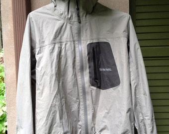 Simms size medium rain jacket