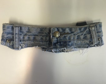Denim Single Pocket Garter