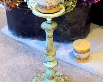 Metal Candle Holder Metal Floor Candle Stand Painted Metal Candle Holder