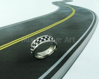 Checkered Flag Ring