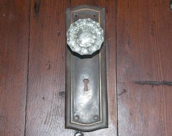 Vintage Glass Door Knob Wall Hanger